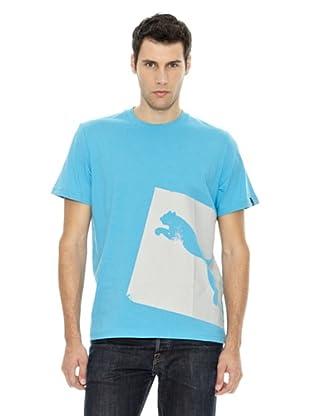 Puma Camiseta Shape Series (Azul)