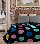 Home Candy Geometric Cozy Double Bed Mink Blanket - Multicolour (MNK-BLN-504)