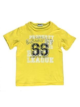 Camiseta Manica Corta Campus (Amarillo)
