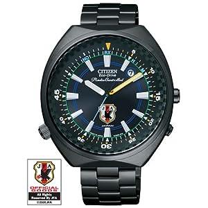 シチズン オルタナ エコドライブ 電波時計 2010年サッカー日本代表チーム オフィシャルライセンス ウォッチ CITIZEN VO10-6598H