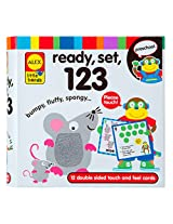 ALEX Toys Little Hands Ready, Set, Touch and Feel Flash Cards, 123