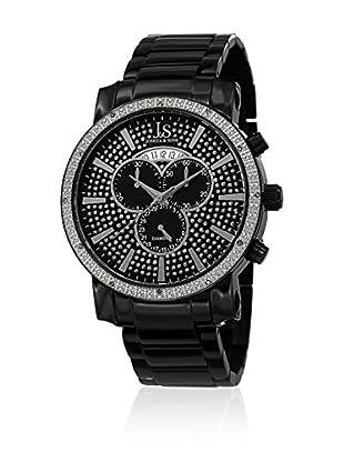 Joshua & Sons Uhr mit Schweizer Quarzuhrwerk JS56BK 46.5 mm