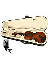 Kadence,KAD-VIV-V10-C,Imported Vivaldi Violin with bow, rosin, hard case and digital Tuner