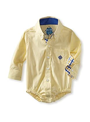 Andy & Evan Baby Boys Shirtzie (Yellow Oxford)