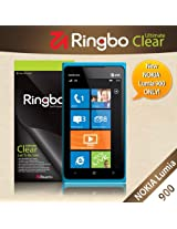[Ultimate Clear] AT&T Nokia Lumia 900 Rearth Ringbo Screen Protector Cover Film