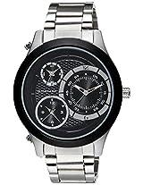 Giordano Chronograph Black Dial Men's Watch P107-02