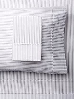 Mélange 400 TC Cotton Shirt Stripe Sheet Set