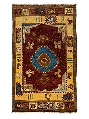 Darya Rugs Kaitag Oriental Rug, Gold, 4' 9
