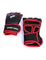 SportSoul MMA Gloves Cross-Cuff, Size - Medium