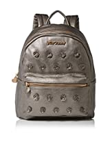 Betsey Johnson Smell the Roses Backpack - Pewter