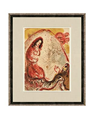 Marc Chagall: Rachel Hides Her Father's Household Gods