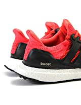 Adidas Ultra Boost Running Shoes (Orange And Black)