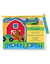 Stephen Joseph Play and Craft Puzzle-Farm