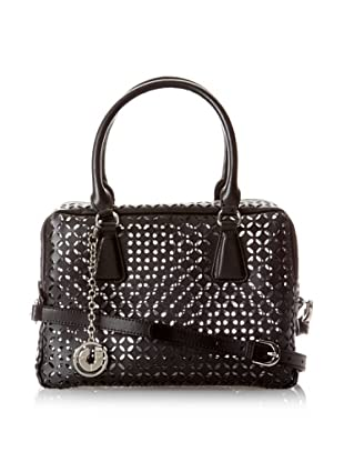 Charles Jourdan Women's Jovanna Duffel Satchel (Black)