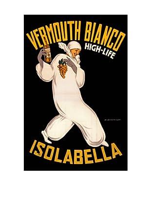 Isolabella Vermouth Bianco Giclée Canvas Print