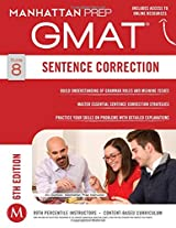 GMAT Sentence Correction (Manhattan Prep GMAT Strategy Guides)