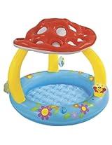 Intex Inflatable Mashroom Pool, Multi Color