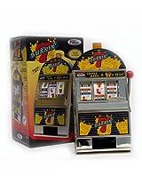 Burning 7's Slot Machine Bank W/ Spinning Reels Burning 7's Slot Machine Bank W/ Spinning Reels