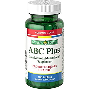 Nature's Bounty ABC Plus with Lutein and Lycopene - 100 Tablets