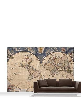 National Maritime Museum Bleau Atlas Mural, Standard, 12' x 8'