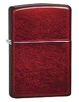 Zippo Candy Apple Pocket Lighter, 5 1/2x3 1/2cm (Red)