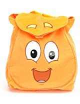 Nickelodeon Dora - the Orange Plush Toddler Backpack and Dora Bifold Wallet Set