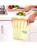 Trash Can Waste Bin Storage Bucket Durable Office Garbage Rubbish Clamp Anti Ship Fixation