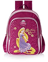 Princess 40 litres Majenta Children's Backpack (St-Dphp-2009-16)