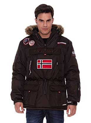 Geographical Norway Abrigo Corto Austral (Marrón)