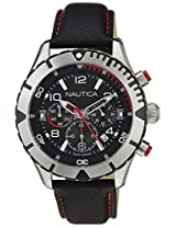 Nautica Sports Chronograph Black Dial Men's Watch - NAI20502G