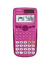 Casio fx-300ES PLUS Scientific Calculator, Pink