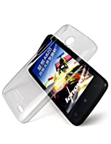 Imak Crystal Clear Hot Transparent Flip Thin Hard Bumper Best Back Case Cover For Lenovo A820