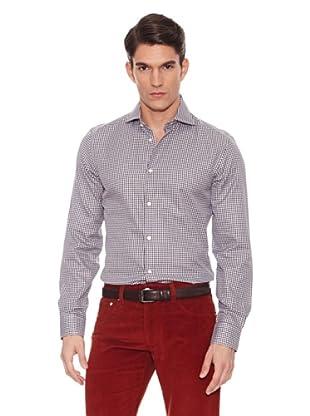 Hackett Camisa Cuadros (Marrón / Blanco)