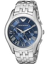 Emporio Armani Men's AR1787 Classic Analog Display Analog Quartz Silver Watch