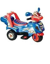 Dates Shoppe Saluja Toys Police Bike/ Battery Operated Bike (Purple)