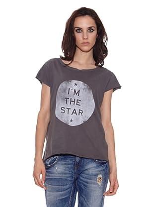 The Hip Tee Camiseta IŽm the Star (Negro Lavado)