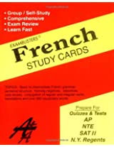 Exambusters French Study Cards (Ace's Exambusters)