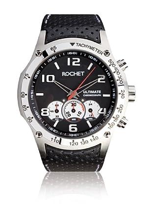 Rochet W104105 Reloj de Caballero movimiento de cuarzo con correa de piel negro