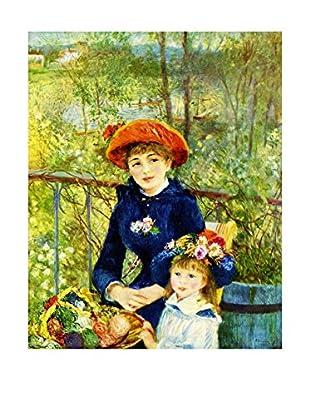 LegendArte  Wandbild Auf der Terrasse von Pierre Auguste Renoir