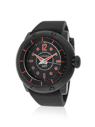 Glam Rock Men's MB26022 Miami Beach Black/Red Watch