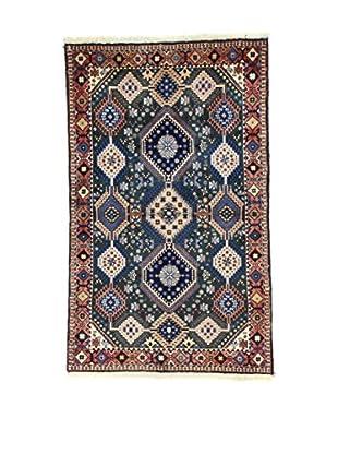 Eden Teppich Yalameh .N blau/rot/beige 102 x 165 cm