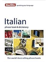 Berlitz: Italian Phrase Book & Dictionary (Berlitz Phrasebooks)