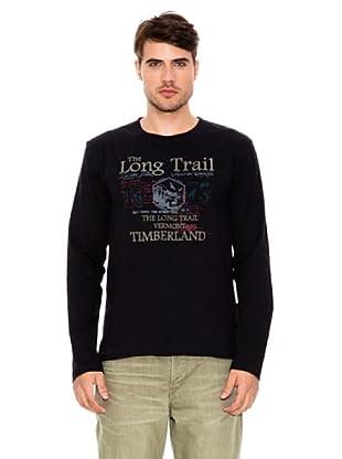 Timberland Camiseta (Azul Marino)