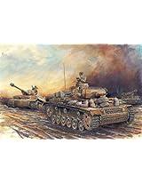Dragon Models 1/72 Pz.Kpfw.III Ausf.N DAK ~ Armor Pro Series