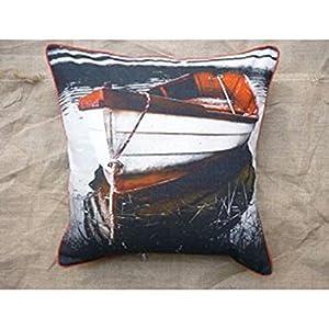 Kitschdii Cotton Canvas Cushion Cover