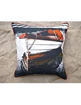 Kitschdii Cotton Canvas Cushion Cover