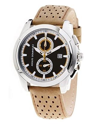 Adolfo Dominguez Watches 78103 - Reloj de Caballero cuarzo correa piel Beige