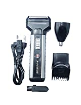 Maxel Multi-functional Hair Clipper, Shaver, Trimmer and Nose Trimmer AK-952 Shaver For Men