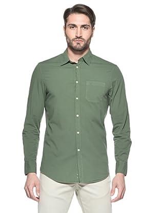Nautica Camisa Hombre (Verde)