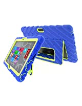 Gumdrop Cases Hideaway Rugged Case with Stand for Dell Venue 11 Tablet (Royal Blue-Lime)